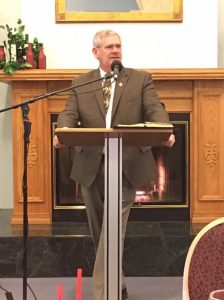 Pastor Jim F. Evans